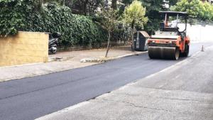 Lavori di rifacimento manto-stradale Viale Cortina d'Ampezzo