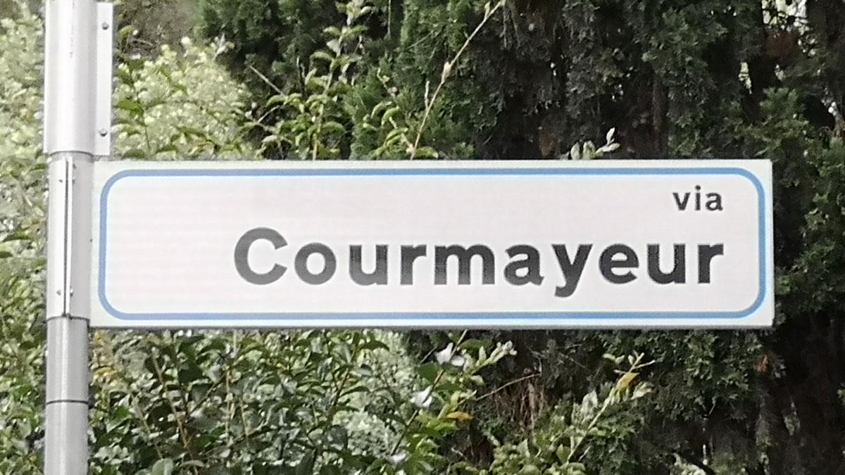 Via Courmayeur